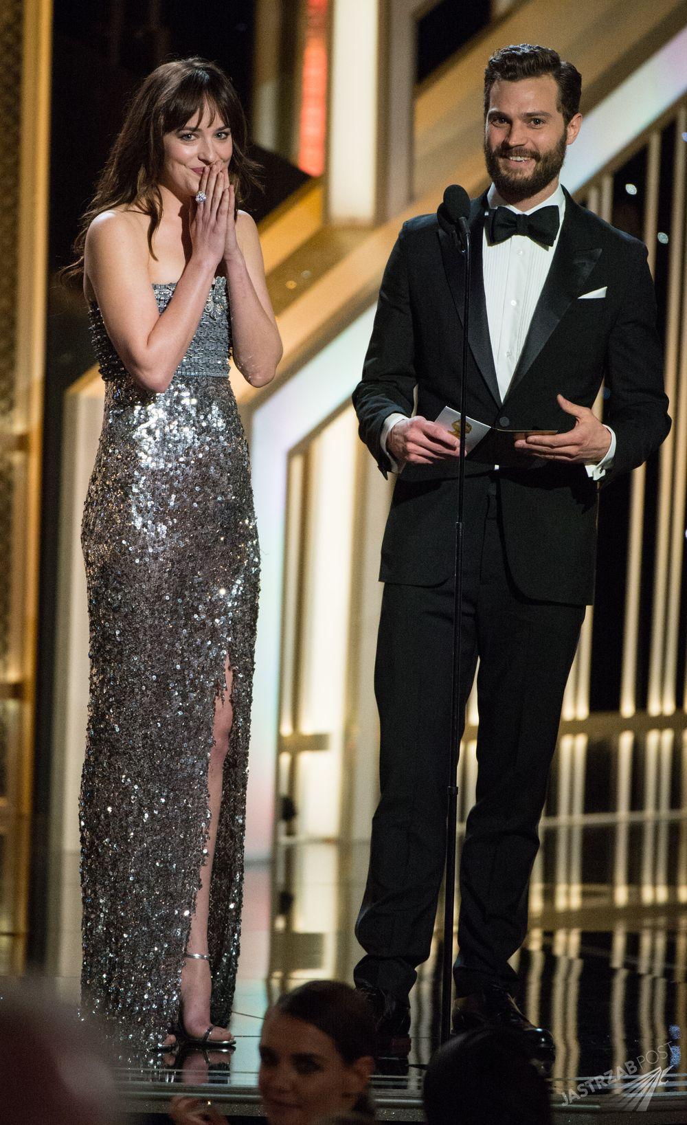 Jamie Dornan i Dakota Johnson nominowani do Złotych Malin 2016