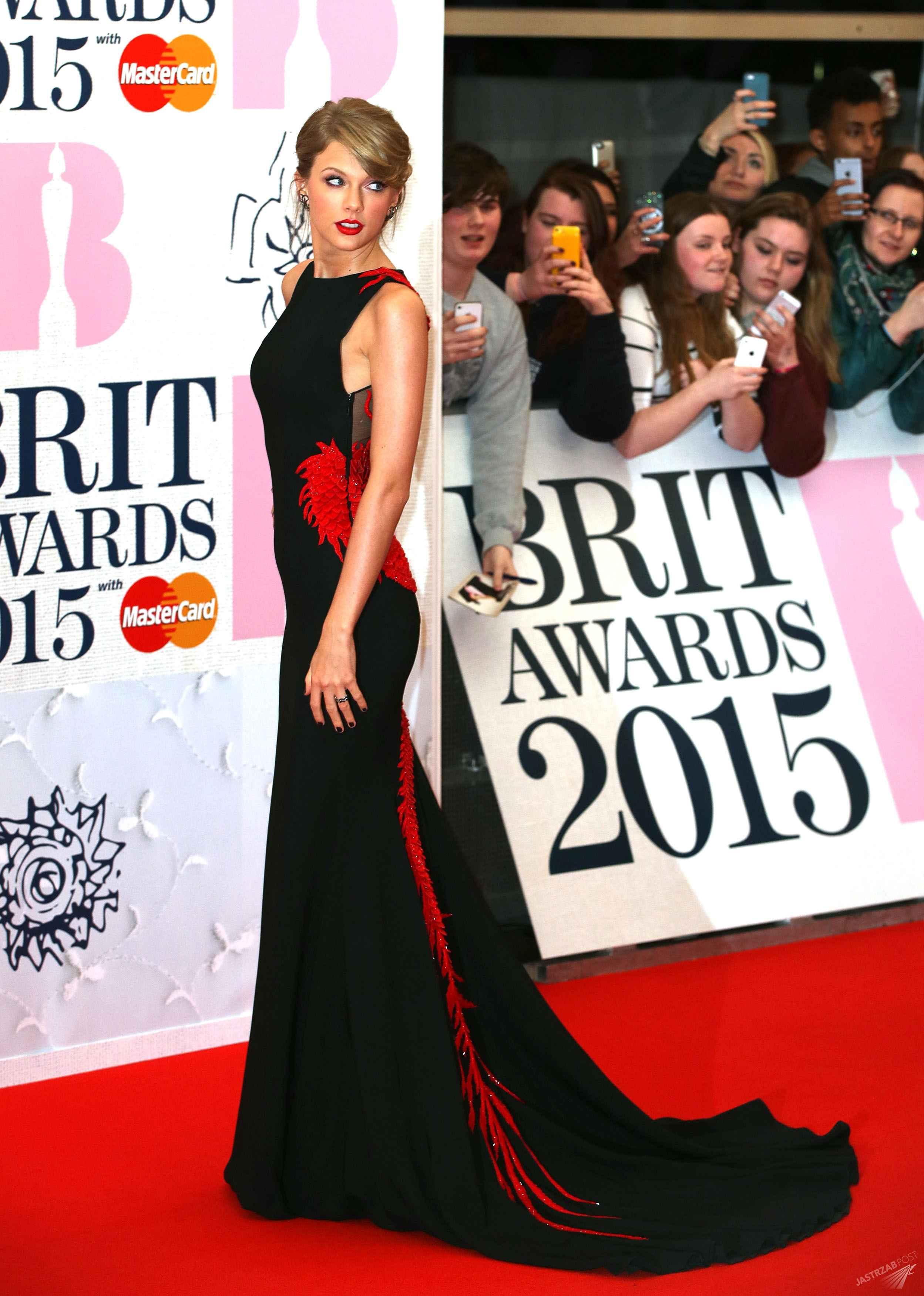Taylor Swift na Brit Awards 2015