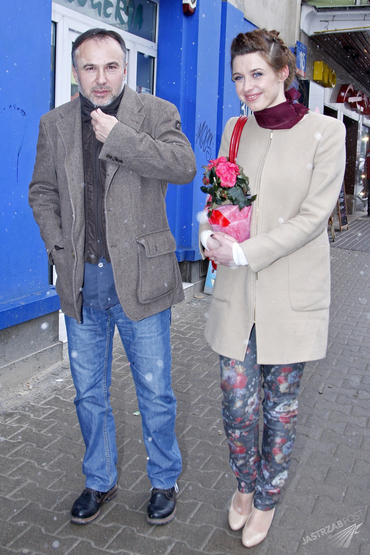 Piotr Jasek i Julia Kamińska