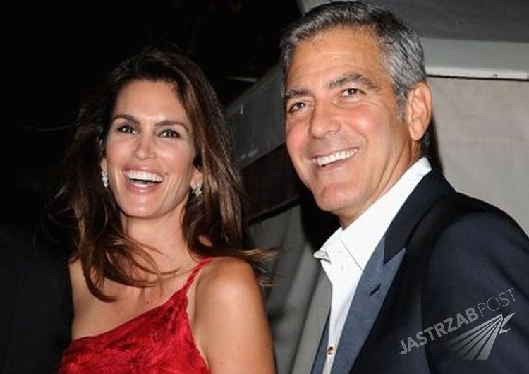 Cindy Crawford i George Clooney