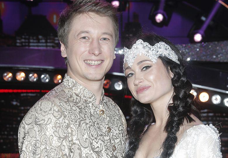 Grzegorz Łapanowski i Walerija Żurawlewa