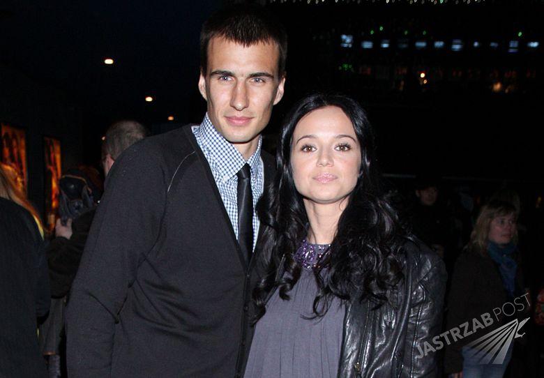 Jarosław Bieniuk i Anna Przybylska