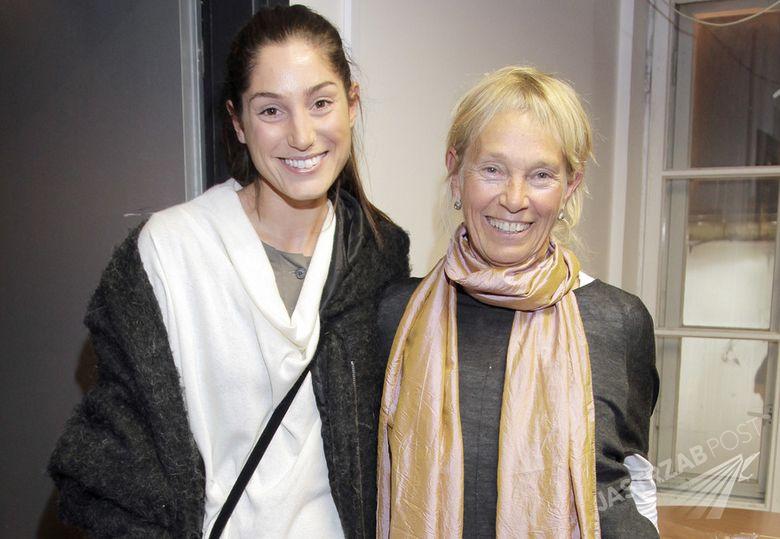 Orina Krajewska i Małgorzata Braunek