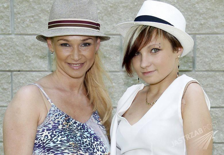Ewa Pacuła i Nicole Saleta