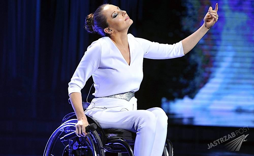Wózek Moniki Kuszyńskiej na Eurowizji 2015