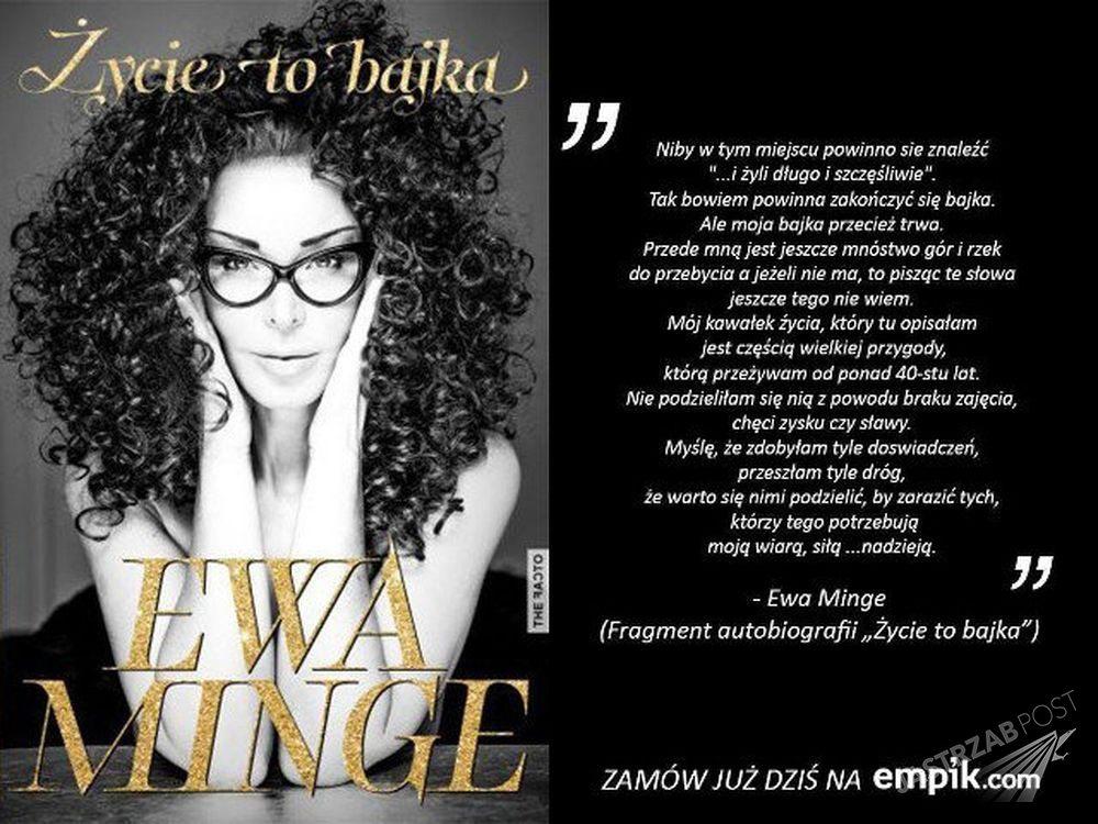 Autobiografia Ewy Minge Fot. screen z empik