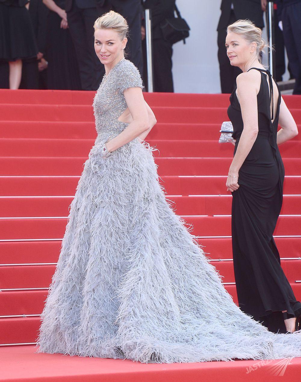 Naomi Watts w kreacji Elie Saab, Cannes 2015 Fot. ons