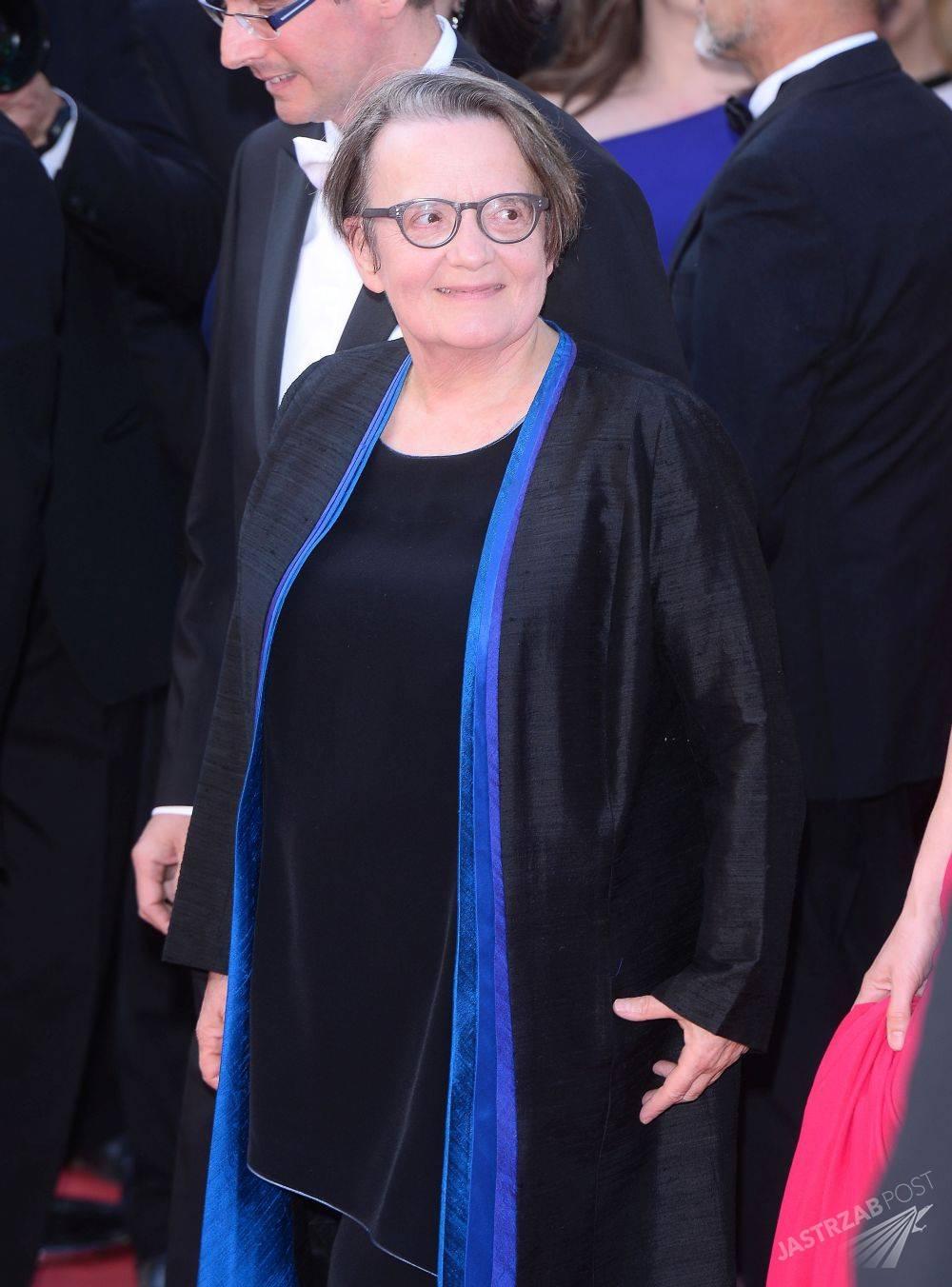 Agnieszka Holland, Cannes 2015, fot. ONS