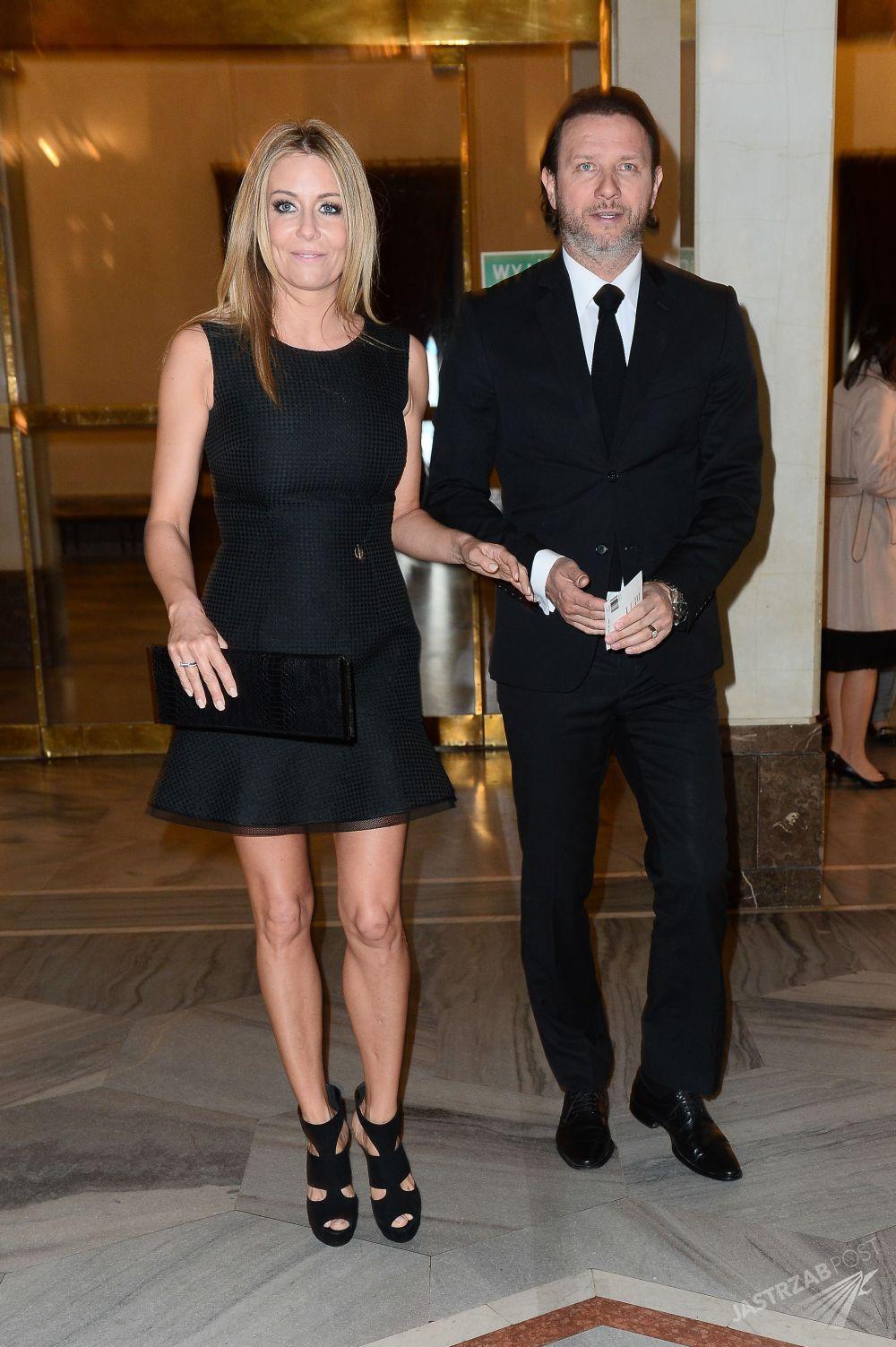 Małgorzata Rozenek i Radosław Majdan, premiera spektaklu Casanova, fot. ONS