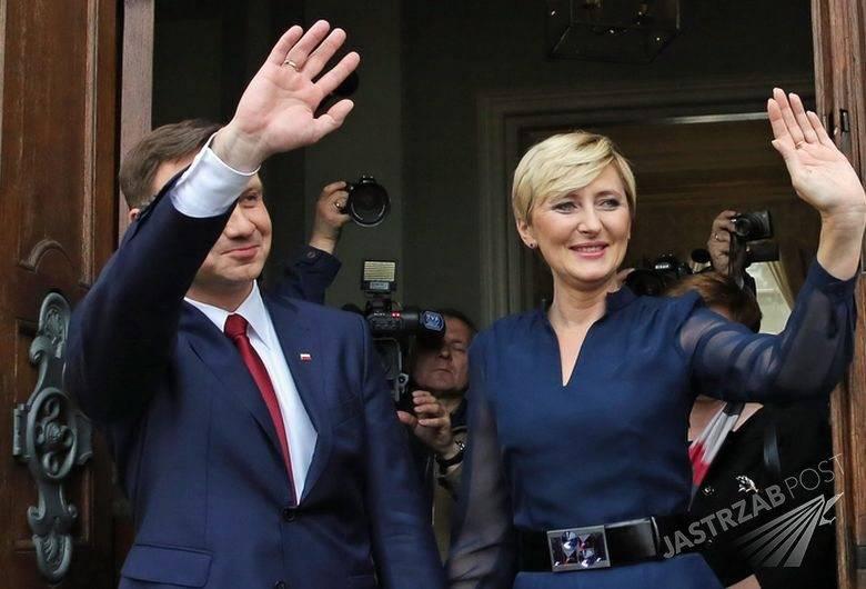 Agata Kornhauser- Duda i Andrzej Duda