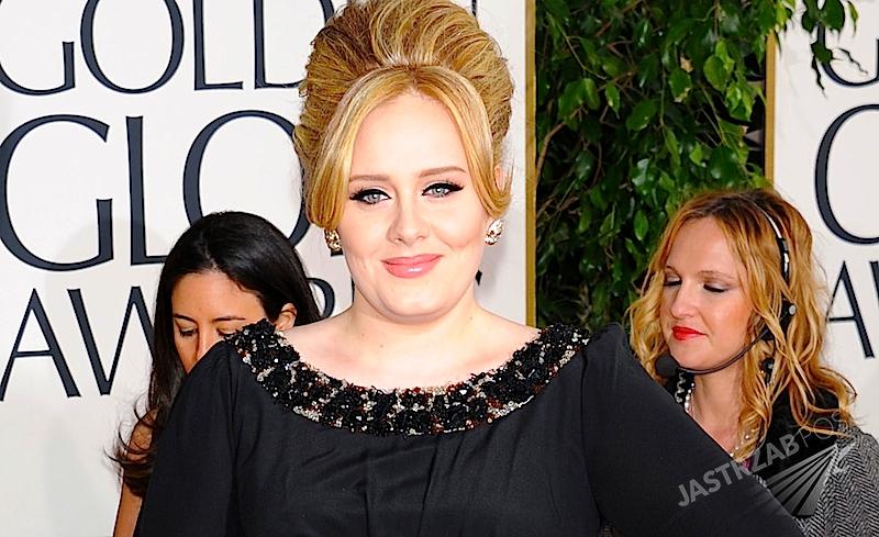 Adele jako George Michael na urodzinach