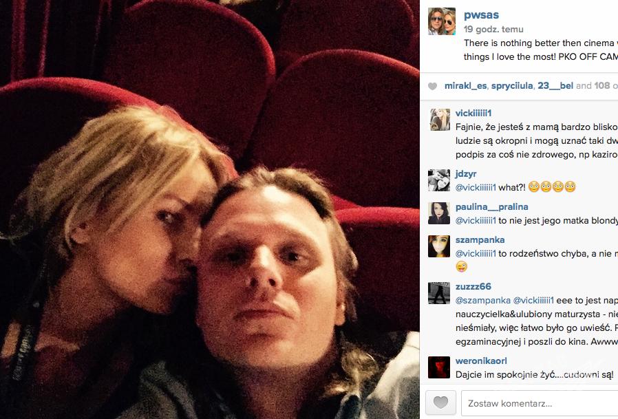 Agnieszka Szulim i Piotr Woźniak-Starak na Instagramie pokazali zdjęcie z Krakowa Off Plus Camera Festival 2015