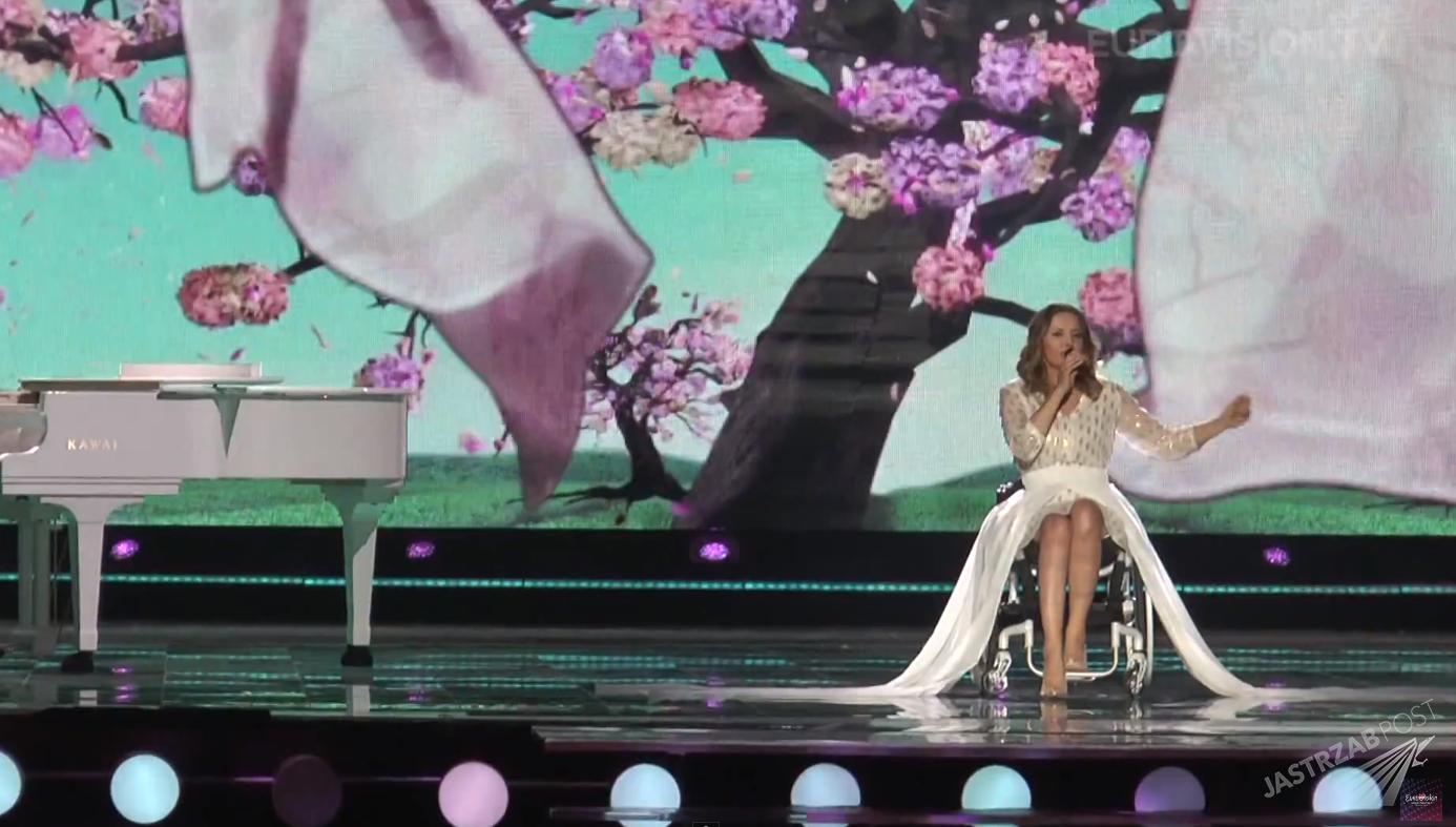 Monika Kuszyńska i jej mąż Jakub Ruczyński na próbie Eurowizji 2015 w Wiedniu. Tak będzie wyglądał jej występ