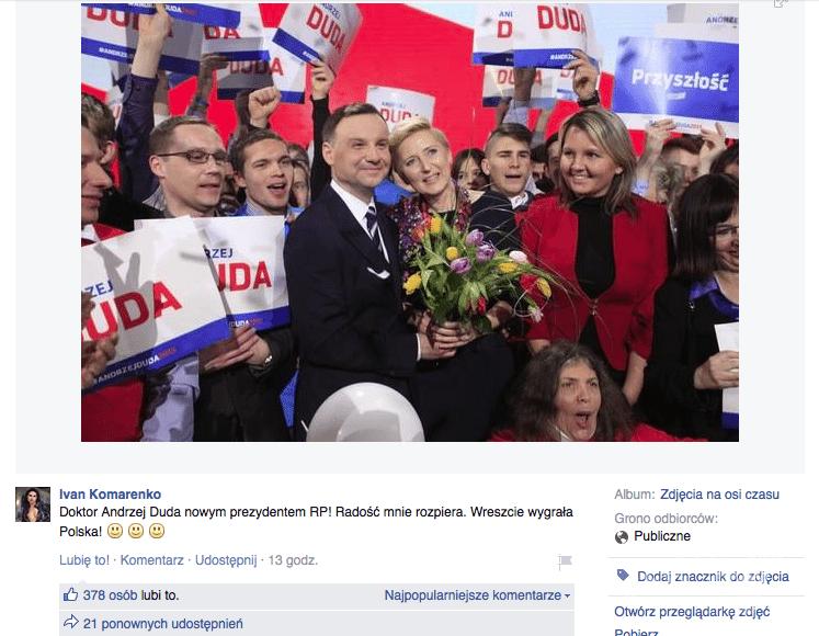 Ivan Komarenko o wyborach 2015