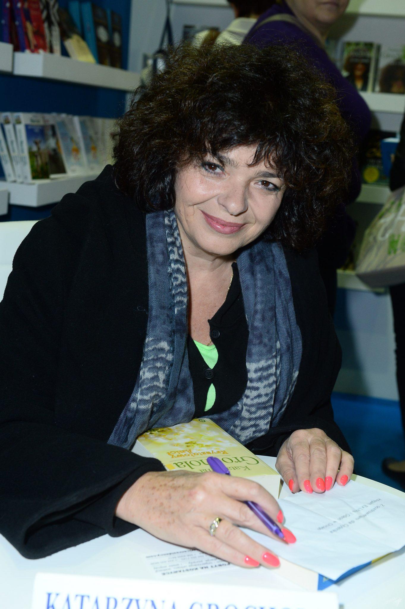 Katarzyna Grochola na 6. Warszawskich Targach Książki 2015