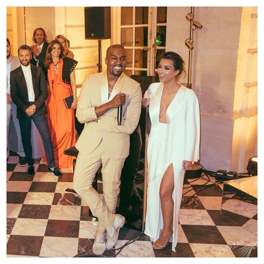 Ślub Kim Kardashian i Kanye Westa, fot. Instagram