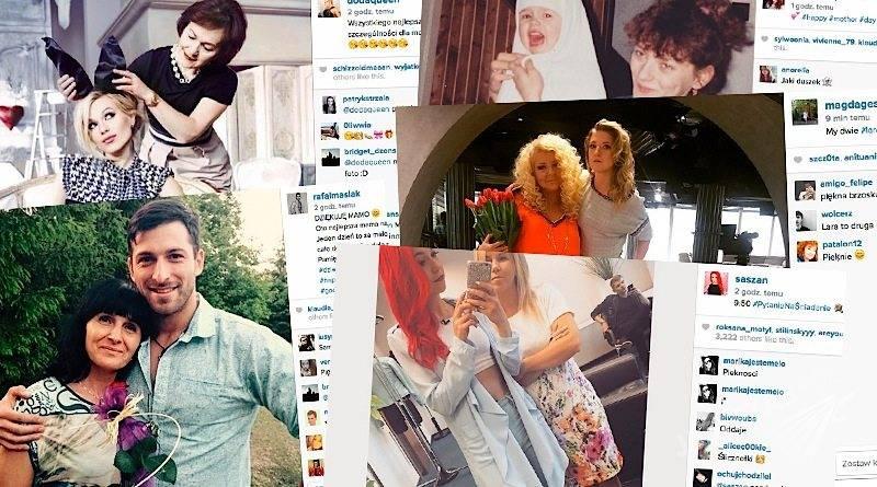 Mamy gwiazd na Dzień Matki. Gwiazdy z mamami na Instagramie 26 maj 2015