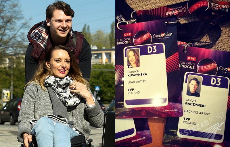Eurowizja 2015: Monika Kuszyńska, mąż Jakub Raczyńska, siostra Marta Kuszyńska w Wiedniu. Zdjęcia na Instagramie Moniki Kuszyńskiej przed pierwszą próbą