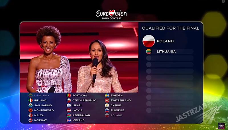 Wyniki Eurowizji 2015. Drugi półfinał. Kto awansował?
