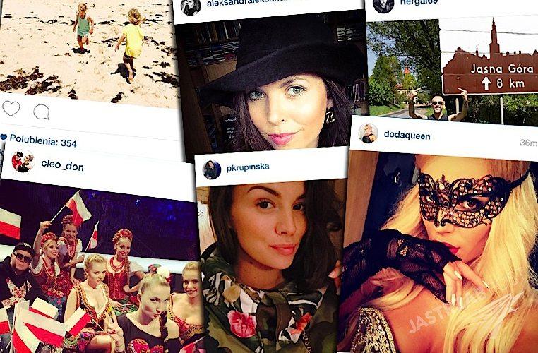 Polskie gwiazdy na Instagramie: Doda Riotka Tour, Paulina Krupińska w ciąży, Donatan i Cleo Eurowizja 2015