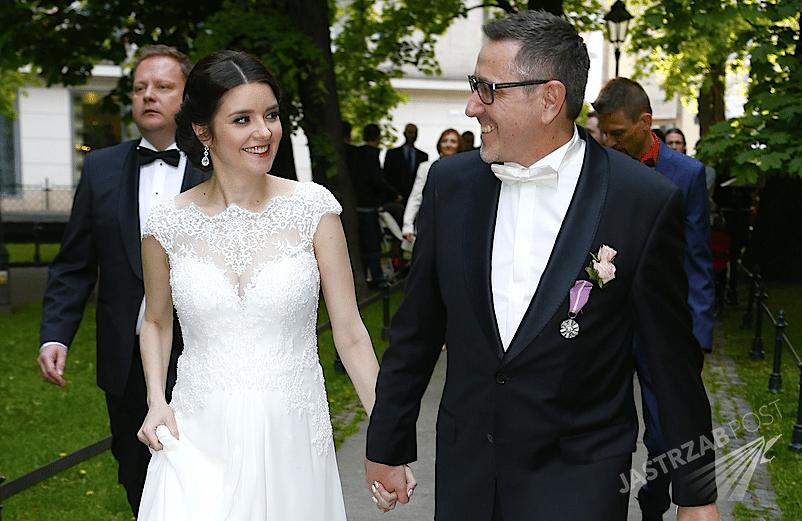 Ślub Andrzeja Sołtysika i Patrycji Czop w Krakowie. Zdjęcia z ceremonii. Kim jest Patrycja Czop?