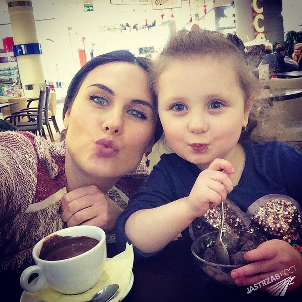 Anna Kuznecowa z córką Sonią Sophią Fot. screen z Facebook