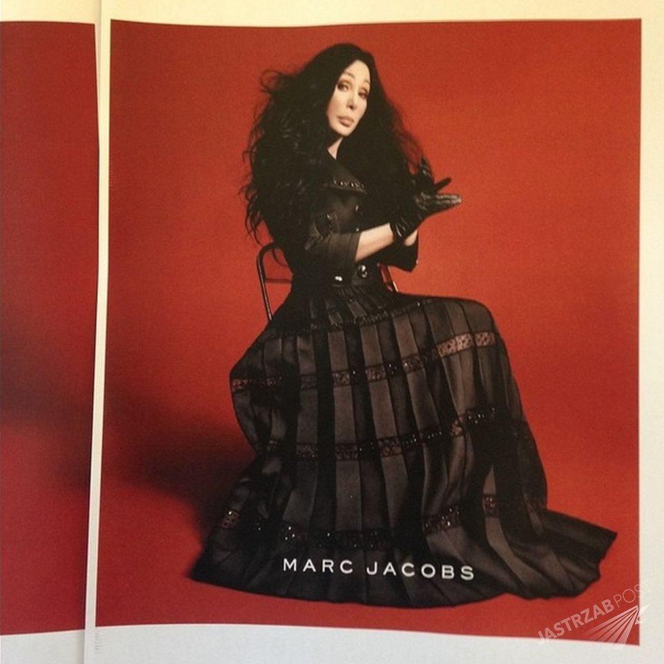 Cher w w kampanii Marca Jacobsa Fot. screen z Instagram