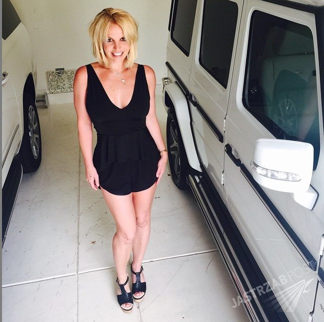 Britney Spears w 2015 roku Fot. screen z Instagram