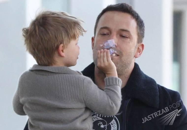 Ben Affleck z synem