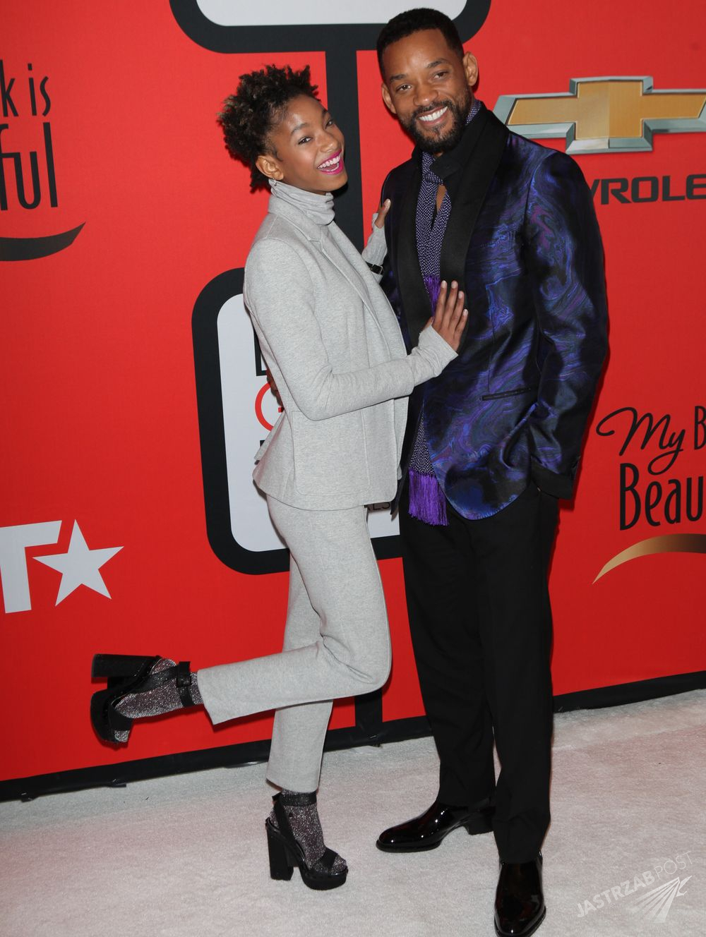 Will Smith i Willow Smith Fot. ons