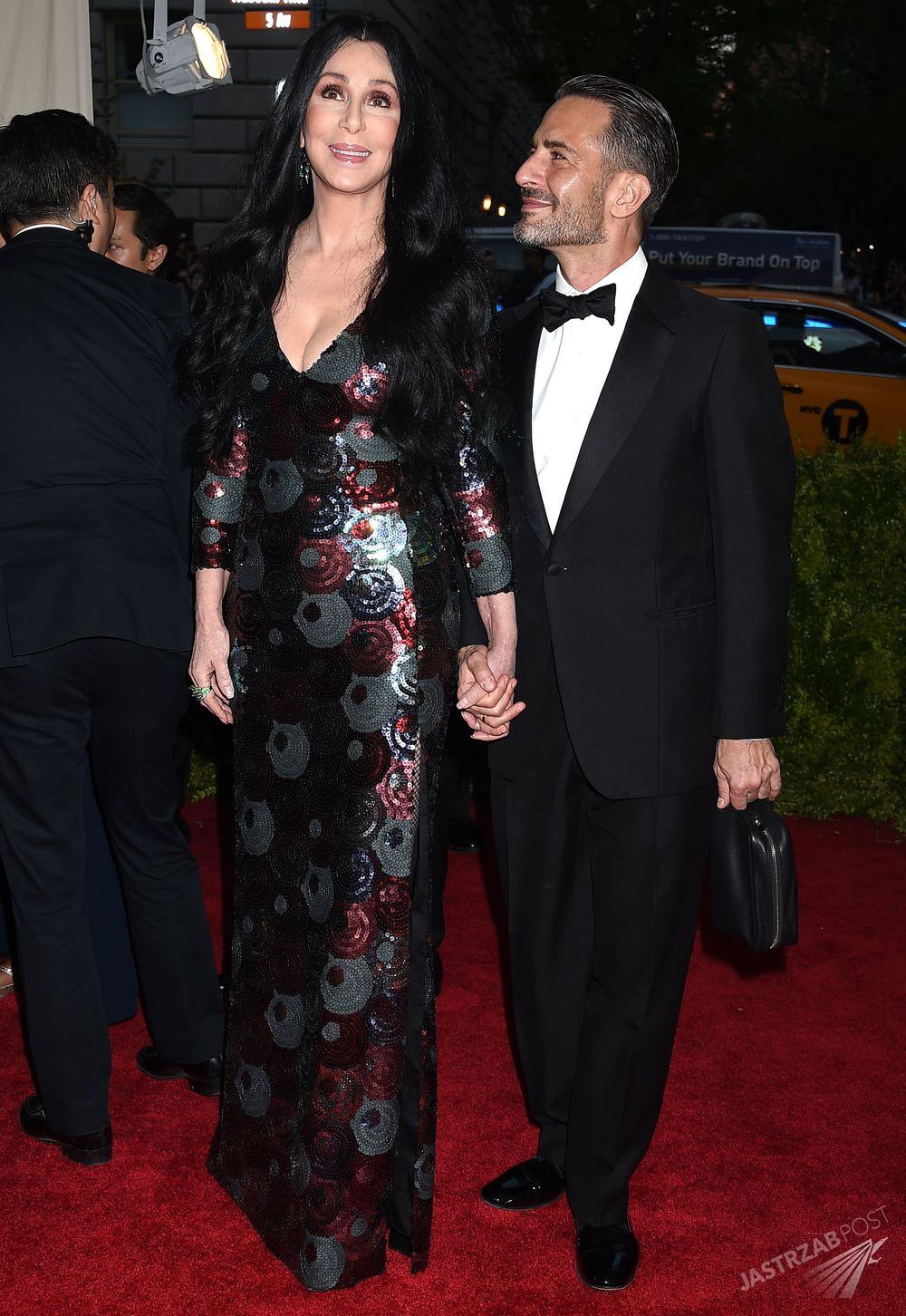 Cher i Marc Jacobs na MET Gala 2015 Fot. ons