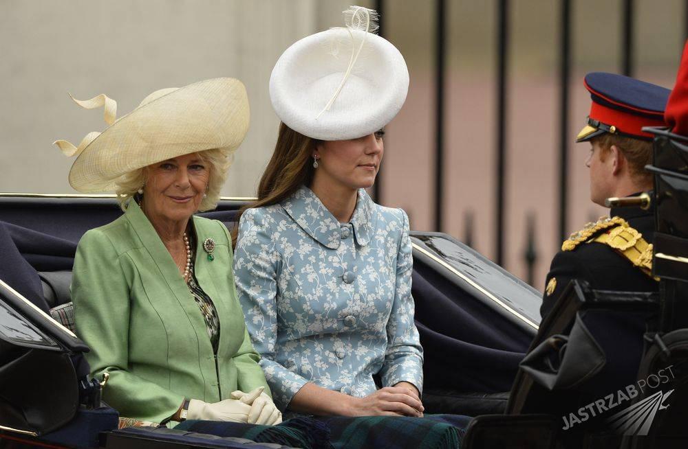 Kate Middleton oraz księżna Camilla