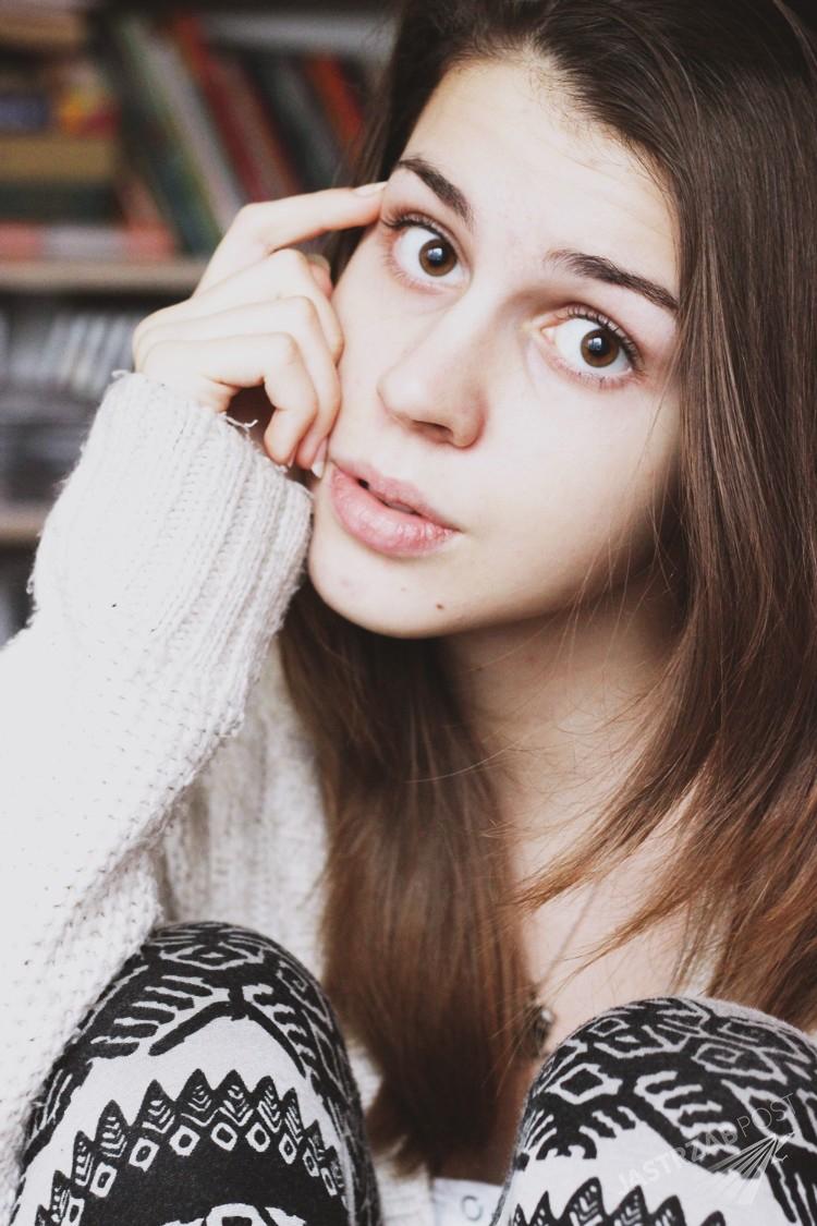 Blogerka Maja z Łodzi huememoir nie przeszła castingu do Top Model 4