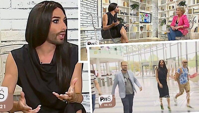 Conchita Wurst w Pytaniu na śniadanie - wywiad YouTube przed Sabatem Czarownic 2015