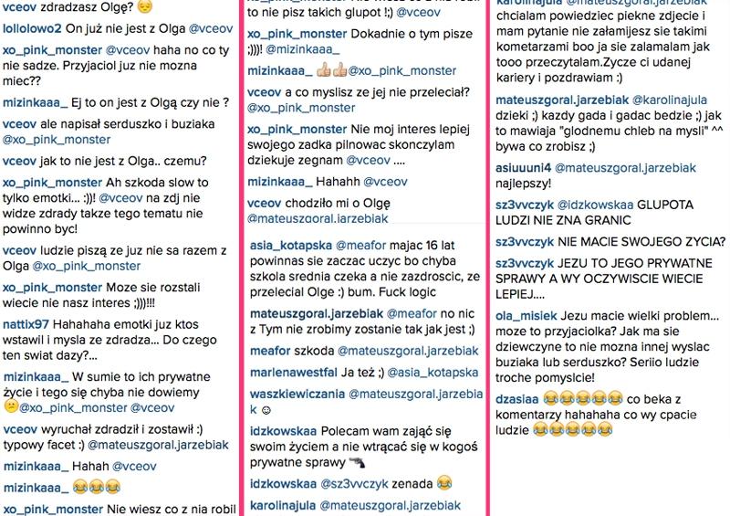 Góral i Aleksandra Wieczorek są parą? Na Instagramie Mateusza Jarzębiaka zrobiło się gorąco