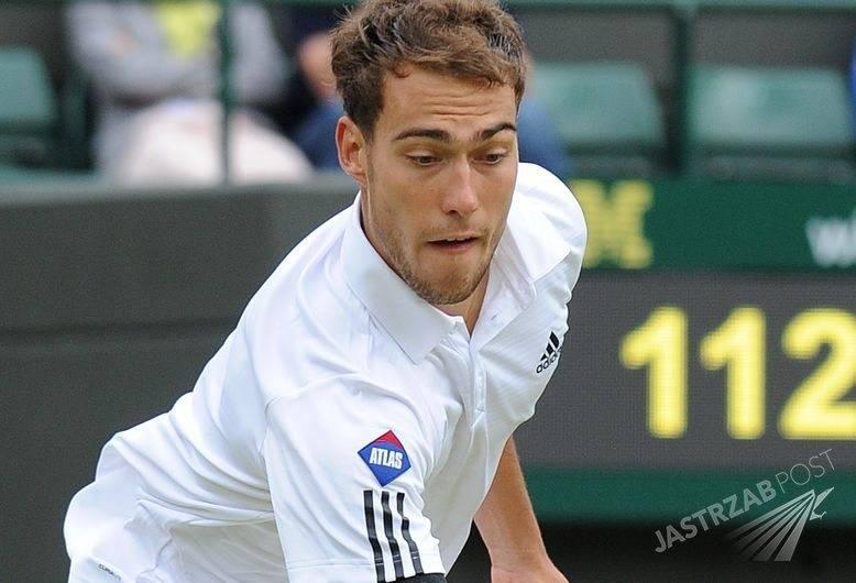 Jerzy Janowicz przegrał na Wimbledonie, fot. ONS