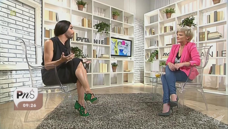 Monika Zamachowska rozmawiała z Conchitą Wurst w Pytaniu na śniadanie