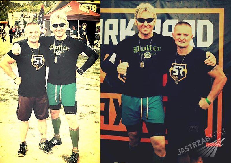 Piotr Schramm blondynem. Nowa fryzura Piotra Schramma (zdj. Facebook)