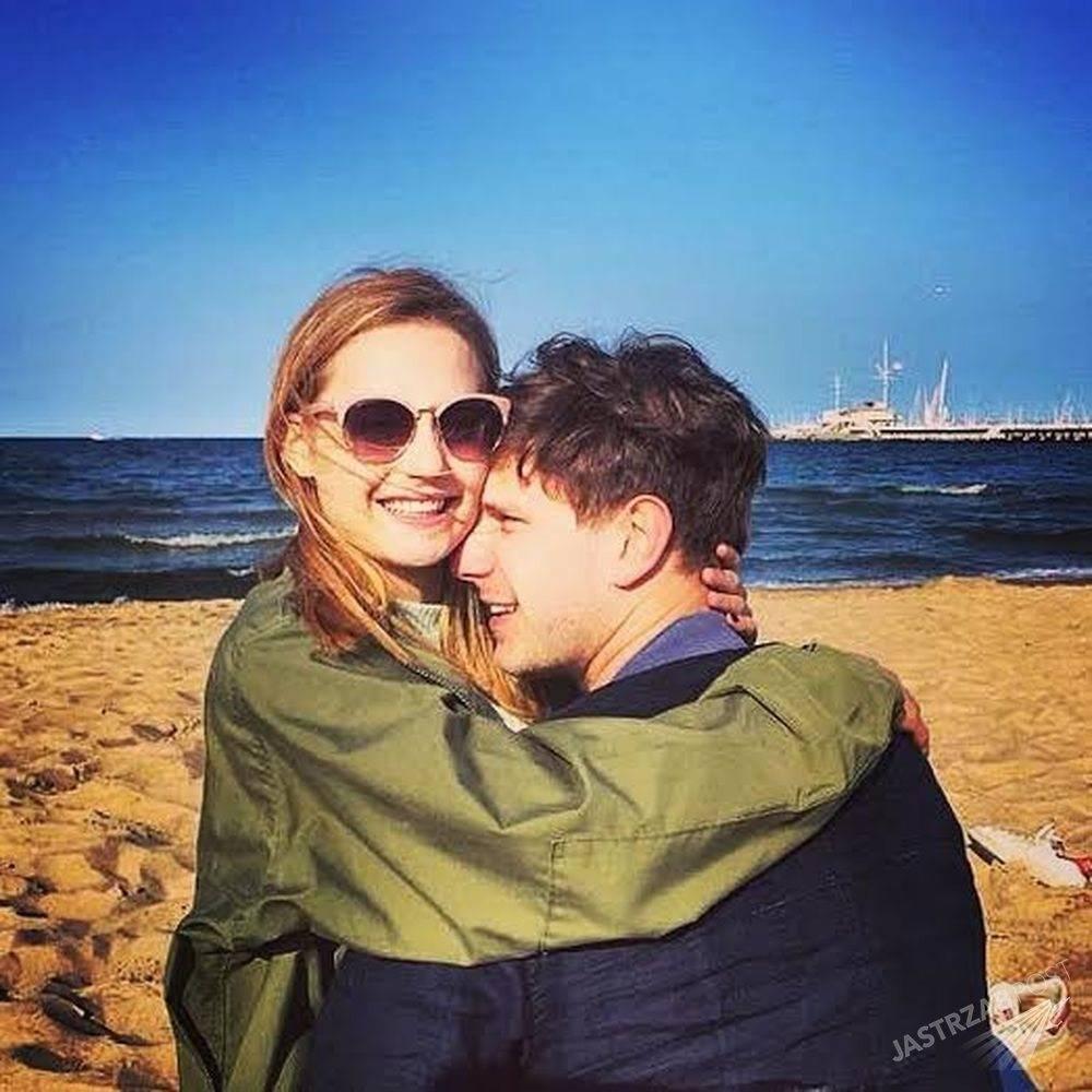 Antoni Królikowski i Kasia Sawczuk na wakacjach, fot. Facebook