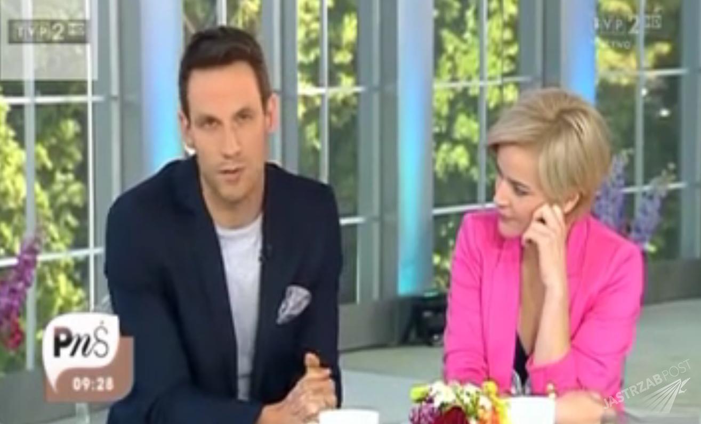 Tomasz Wolny skrytykował Conchitę Wurst w Pytaniu na śniadanie