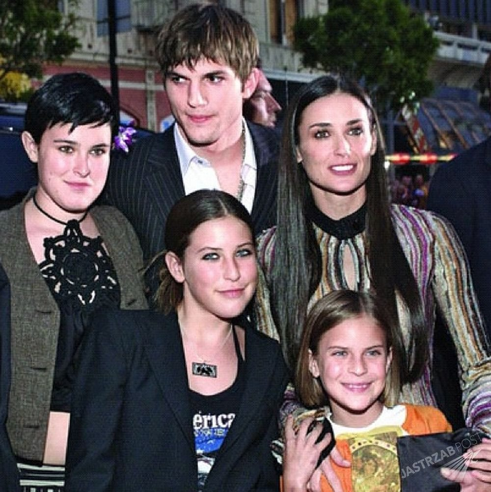 Demi Moore z dziećmi