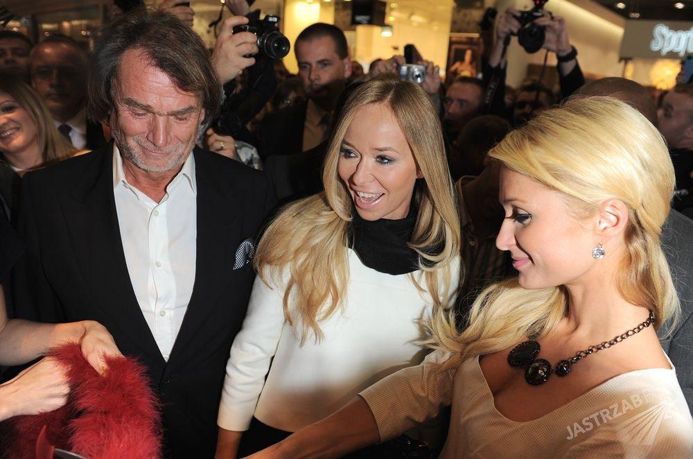 Jan Kulczyk, Joanna Przetakiewicz i Paris Hilton Fot. ons