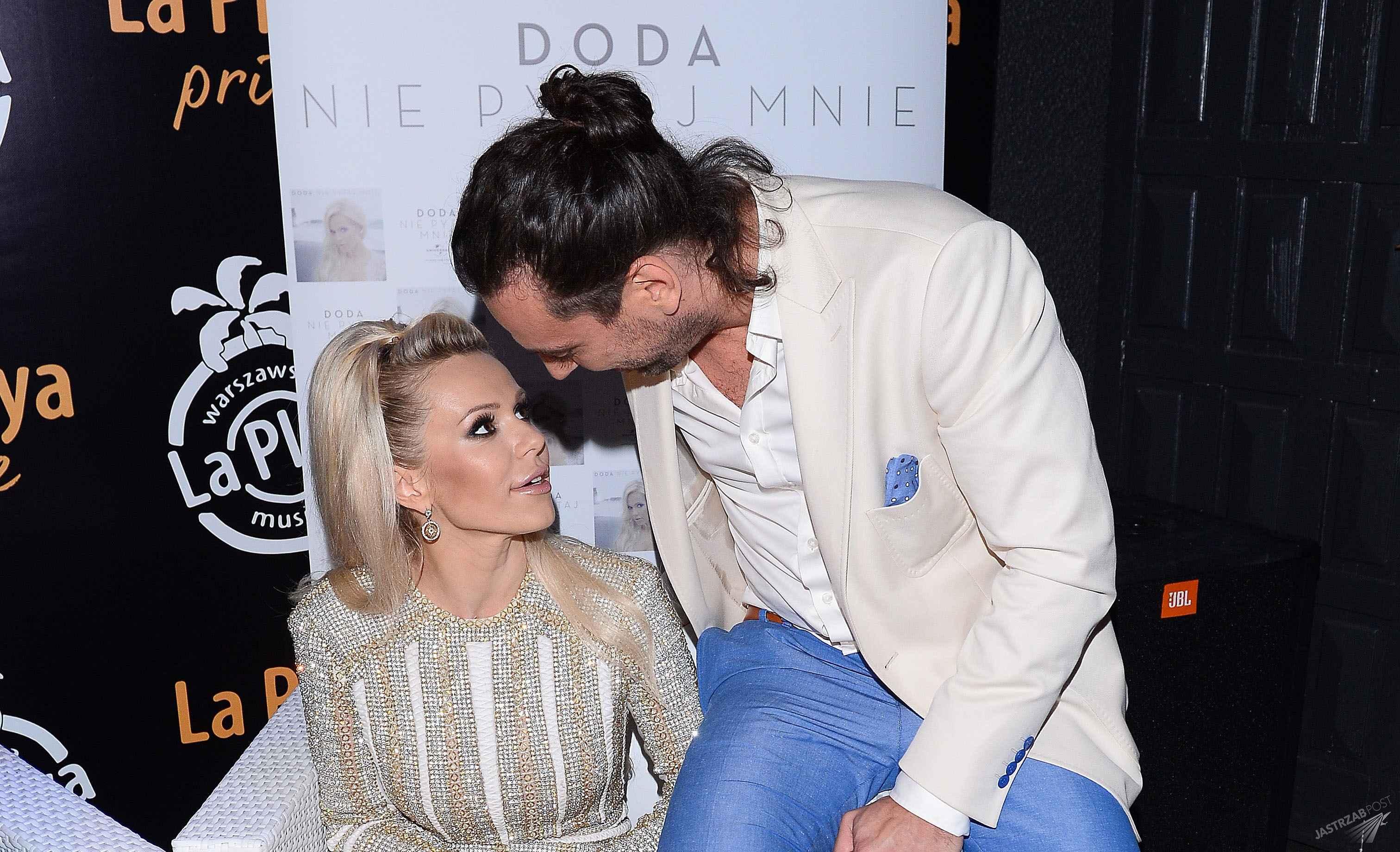 Doda i Emil Haidar mają nieślubne dzieci