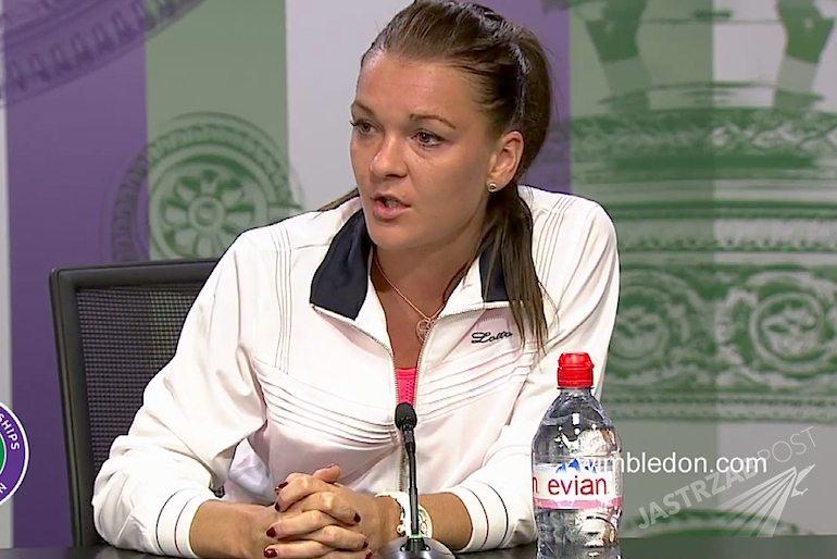 Agnieszka Radwańska wyprosiła dziennikarzy TVN z kofnerencji prasowej. Wimbledon 2015. Video na YouTube