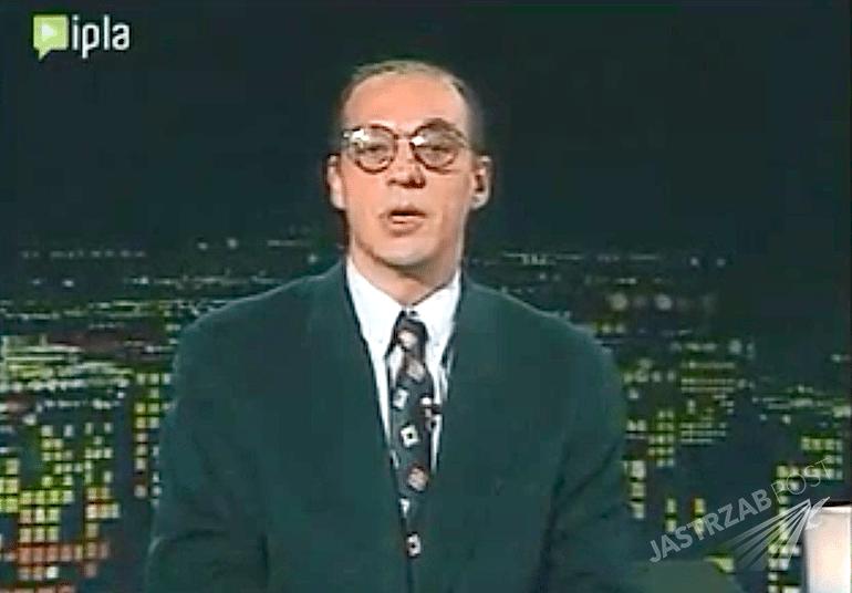 """Andrzej Woyciechowski prowadził """"Na każdy temat"""" do 1995 roku. W tym roku zmarł na raka płuc. Zastąpił go Marcin Szczygielski"""
