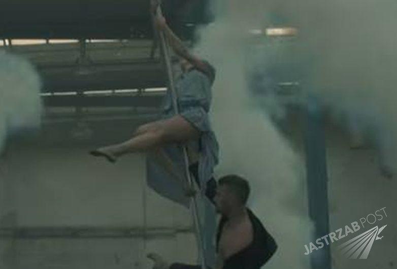 Ania Wyszkoni tańczy na rurze w nowym teledysku, fot. Youtube