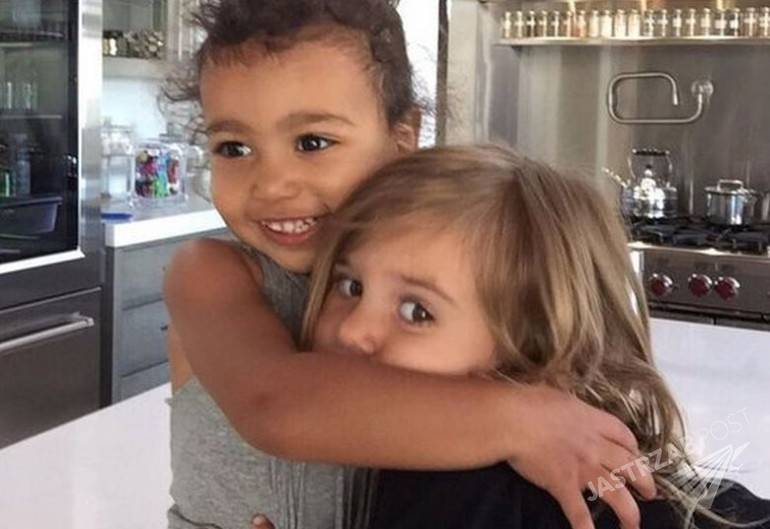 North West i Penelope Disick, fot. Instagram