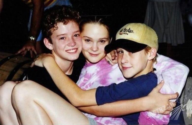 Justin Timberlake i Ryan Gossling w dzieciństwie