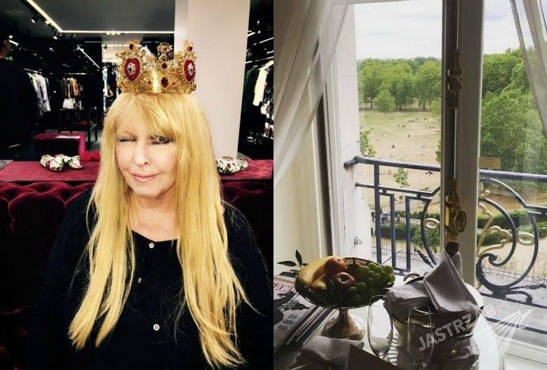 Maryla Rodowicz na luksusowych zakupach