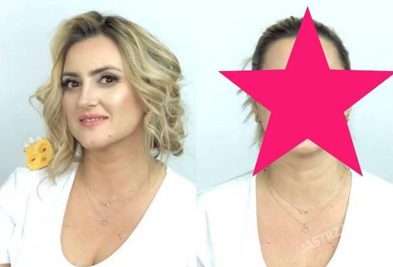 Karolina Szostak bez makijażu, fot. YouTube